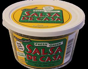 Salsa De Casa - Organic Green Salsa