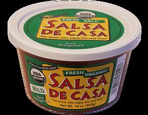 Salsa De Casa - Organic Mild Salsa