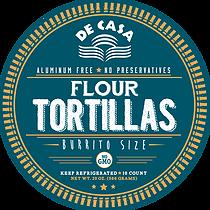 Flour Tortillas - Burrito Size