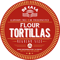 Flour Tortillas - Regular Size