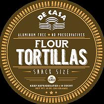 Flour Tortillas - Snack Size